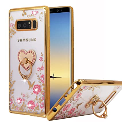 Amazon.com: Funda para Galaxy Note 8, Miniko(TM) de lujo ...