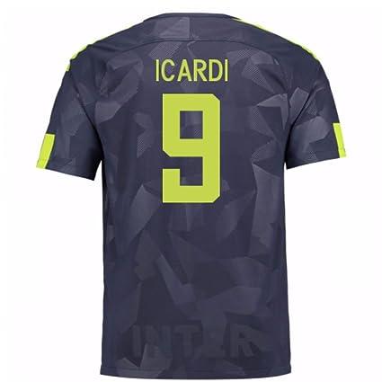 uk availability 9cf19 fa51a Amazon.com : 2017-18 Inter Milan Third Football Soccer T ...
