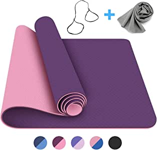 Amazon.com : FerDIM Non-Slip All-Purpose Yoga Mat, Eco