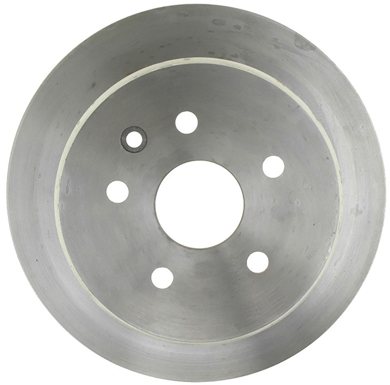 ACDelco 18A585A Advantage Non-Coated Rear Disc Brake Rotor