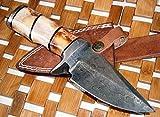 (US) Custom Handmade Damascus Steel knife (59-40) (Colors/Case may vary)