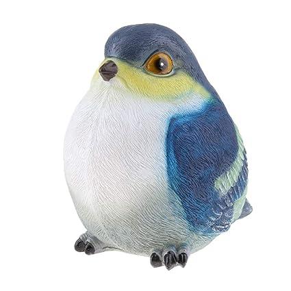 Amazon.es: B Blesiya Estatua de Pájaros de Aire Libre Adorno ...