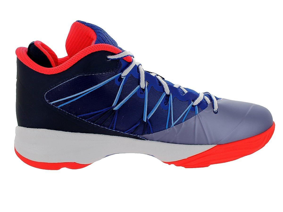 new arrivals 6404d dde54 Amazon.com  Jordan Nike Men s CP3.VII AE Gm Royal Wht Mdnght Nvy Obsidn Basketball  Shoe 12 Men US  Clothing