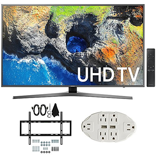 Samsung UN55MU7000 54.6' 4K Ultra HD Smart...