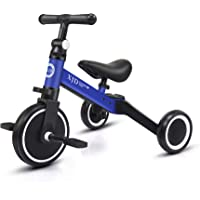 XJD 3 in 1 Kids Tricycles for 1-3 Years Old Kids Trike 3 Wheel Toddler Bike Boys Girls Trikes for Toddler Tricycles Baby…