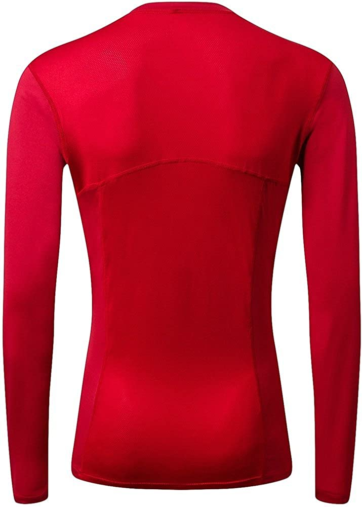 TuGui Womens Compression Sprots Yoga Dry Sweat Running Long Sleeve T-Shirts