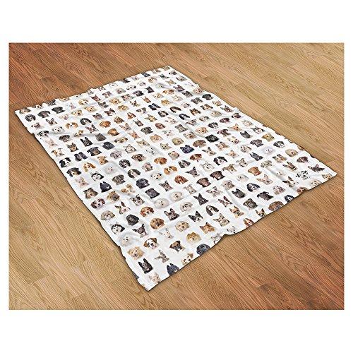 Dover Down Jacket (Dog Breed Collage Blanket 84 Different Breeds! (50
