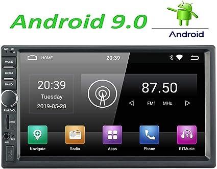 con touch screen da 7 RDS Collegamento mirror USB SD GPS LEXXSON Stereo da auto Android 1 Din Android 8,1 unit/à Octa Core da 4 GB RAM con supporto Bluetooth WIFI Nav DAB