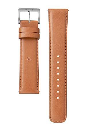 69a1d7f0c0 Amazon | [wena project] wena wrist leather 22mm Tawny Brown WC-22E0N ...