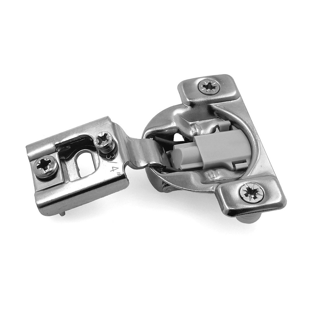 Modket M4313-12-D-SC-50 35mm 105 Degree 3/4 in. Overlay Soft Close Compact Concealed Hinge w/Dowels for Face Frame Cabinets — 50 Pack (25 Pairs)