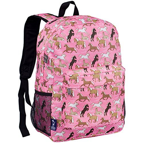 Wildkin Horses in Pink Crackerjack (Monogrammed Clothes For Kids)