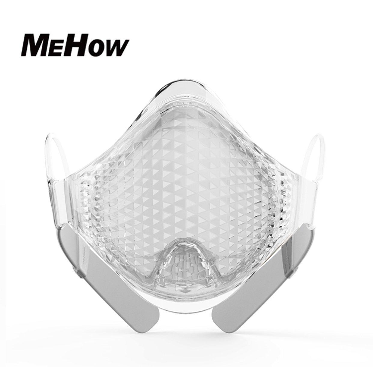 遂に上陸 有名アスリート垂涎のトレーニングマスク 99.77% average filtration of bacteriasランニングなどのトレーニング時により安全で良質な酸素を取り入れる PM2.5対応 FDA認可の特許フィルターシステム  白 B07DC17KCC