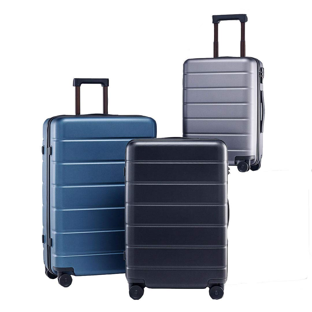 F.S.M. 20inch Suitcase 38L TSA Lock Spinner Wheel Carry On Luggage Case Outdoor Travel from New Youpin - Black by F.S.M.