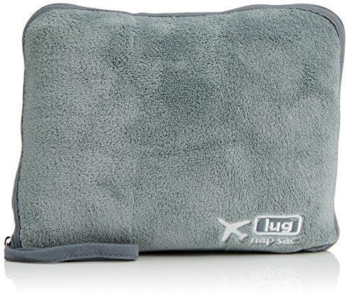 Lug Nap Sac Blanket and Pillow, Fog Grey by Lug ()