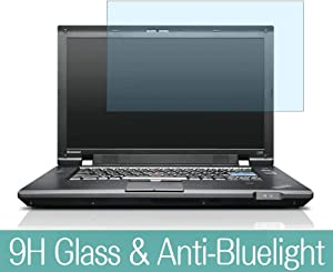 "Synvy Anti Blue Light Tempered Glass Screen Protector for Lenovo Thinkpad L520 Laptop 15.6"" Visible Area 9H Protective Screen Film Protectors"