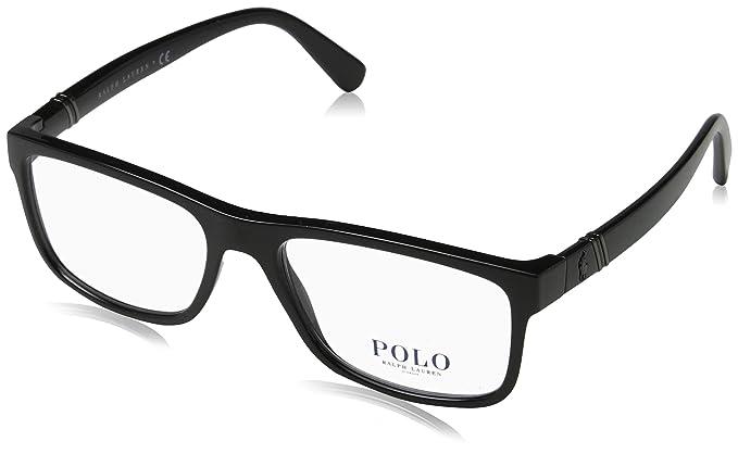 Amazon.com: Polo para hombre ph2184 anteojos, negro: Clothing