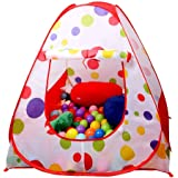 Sasimo Hut Type Kids Toys Jumbo Size Play Tent House for Boys and Girls (Baby Toys) (Red)