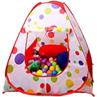 Sasimo Hut Type Kids Toys Jumbo Size Play Tent House for Boys and Girls (Red) (Baby Toys)