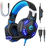 VersionTECH. G2000 [Updated] Stereo Gaming Headset for Xbox One PS4 PC,Surround Sound Over-Ear Headphones with 50mm…