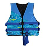 Docooler Children Kids Life Jacket Buoyancy Aid Flotation Device Boating Surfing Work Vest Clothing Swimming Life Jackets Safety Survival Suit Outdoor Water Sport Swimming Drifting Fishing