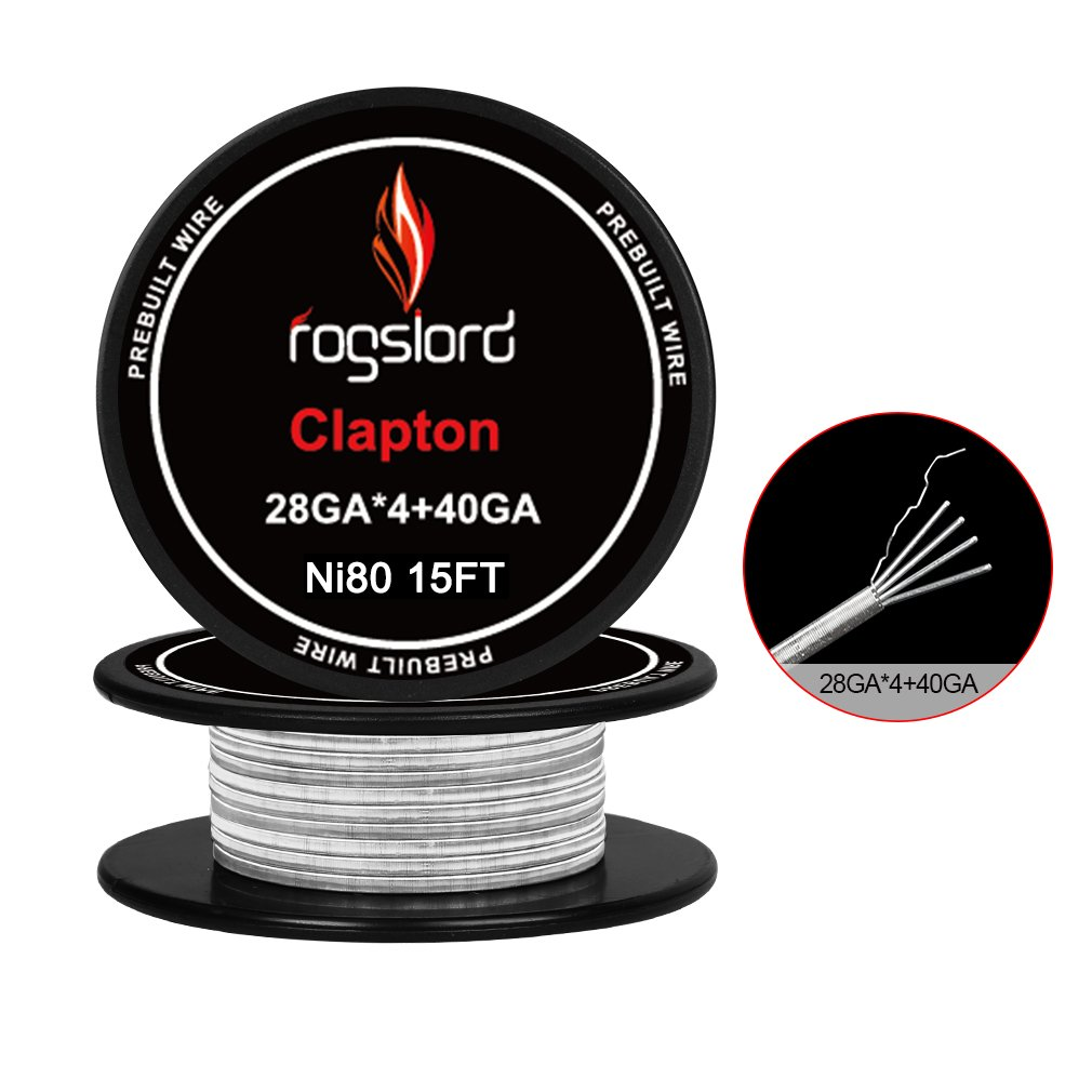 15 ft. AWG 28GAx4+40GA Prebuilt Resistance Wire Nichrome 80 Coils for Household Wiring Use