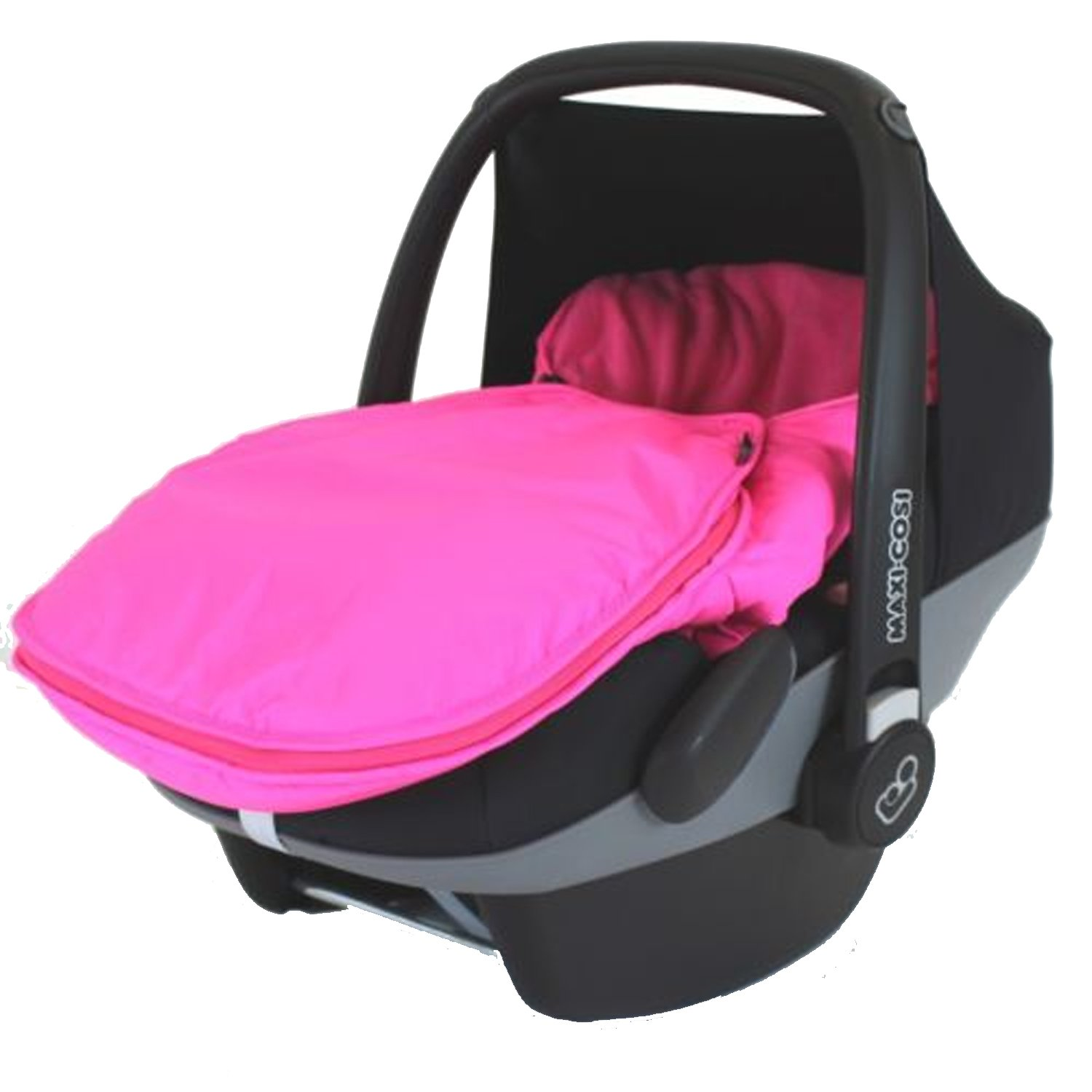 Carseat Footmuff To Fit Maxi Cosi Cabrio - Pink Baby Travel
