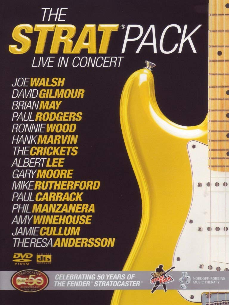 The Strat Pack: 50th Anniversary Of The Fender Strat DVD 2005 by Joe Walsh: Amazon.es: Joe Walsh, David Gilmour, Brian May, Paul Rodgers, Ronnie Wood, Aubrey Powell: Cine y Series TV