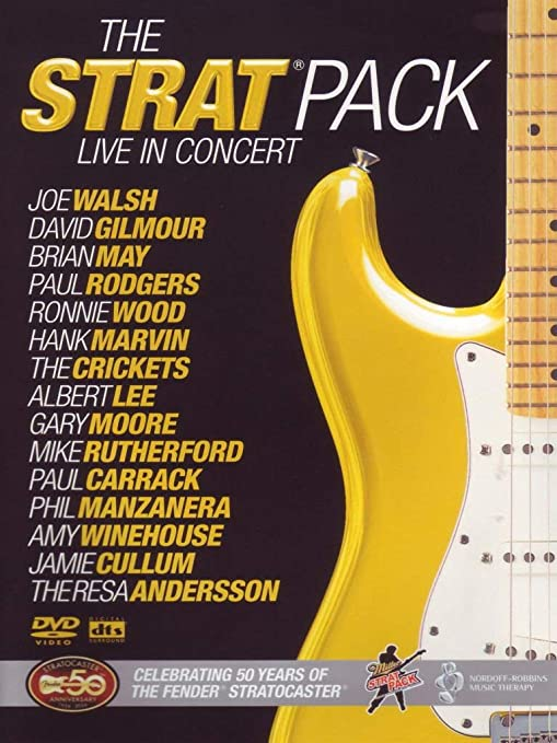 The Strat Pack: 50th Anniversary Of The Fender Strat DVD 2005 by ...