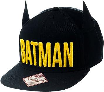 Batman Gorra SB1KD5BTM Ajustable con Orejas y Visera Logo with ...