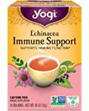 Yogi Tea, Echinacea Immune Support, 16 Count (Pack of 6), Packaging May Vary