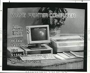 Historic Images 1987 Press Photo Home Shopping TV Network - cvb38374