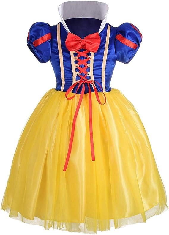 ALEAD La Chica Blanca Nieves Ropa máscara Disfraces Halloween ...