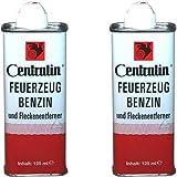 Centralin Feuerzeugbenzin, 2 x 125ml
