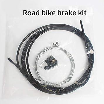 MeterMall Caja de Cable de Freno de Bicicleta Línea de Ciclismo Core MTB Road Bike Lines Tube Set Juego de línea de Freno de Bicicleta de Carretera: Amazon.es: Deportes y aire libre