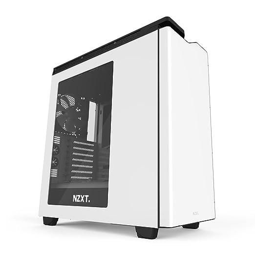 51 opinioni per Nzxt CA-H442W-W1 Cassa da Gaming per PC, Bianco/Nero