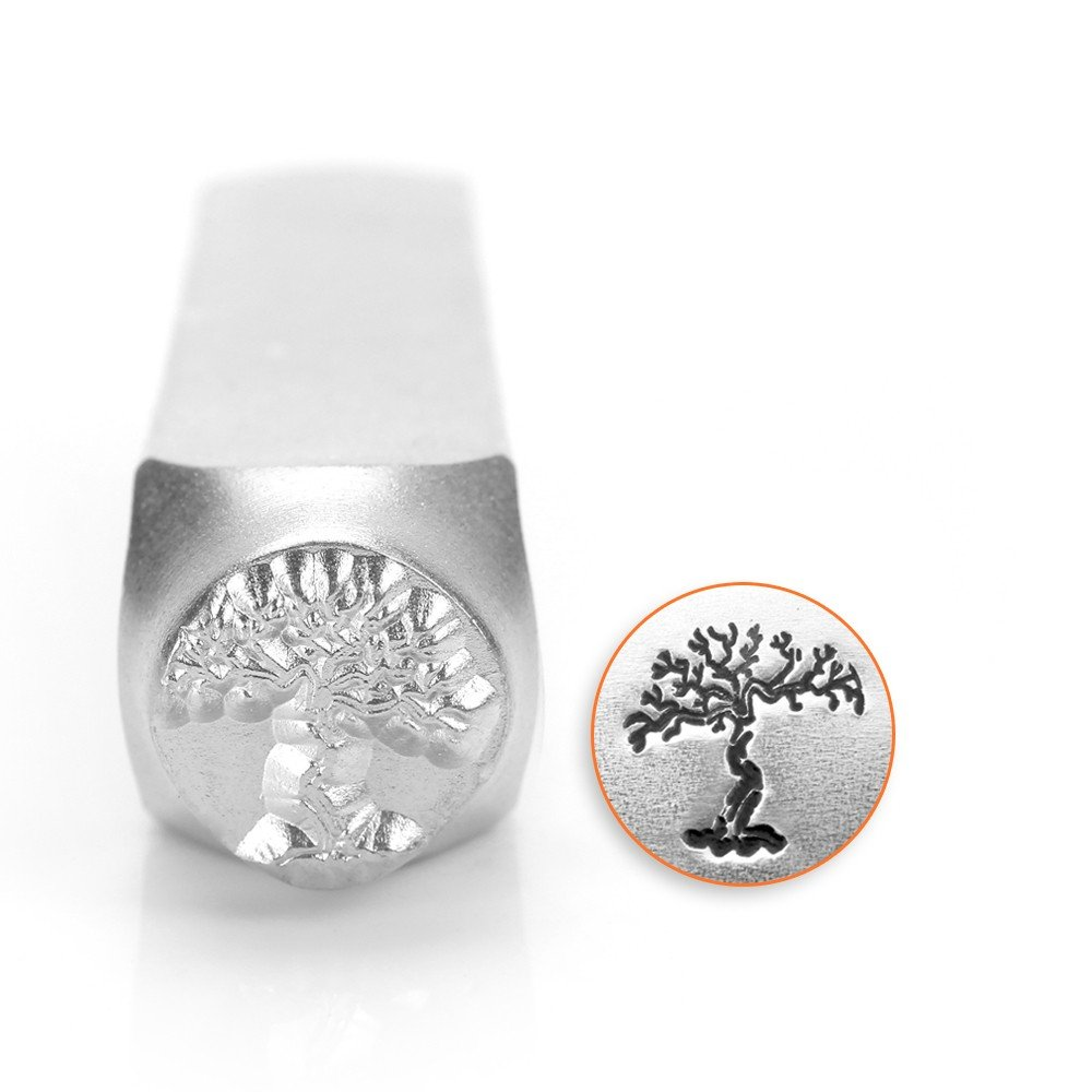 ImpressArt- 9.5mm, Dead Tree Metal Stamp SC1515-K-9.5MM