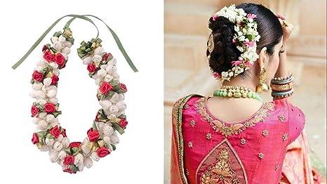 f66cbaa1161f5 EKAN South Indian Bridal Hair Gajra, Hair Accessories For Women And Girls  (Model no - 10090