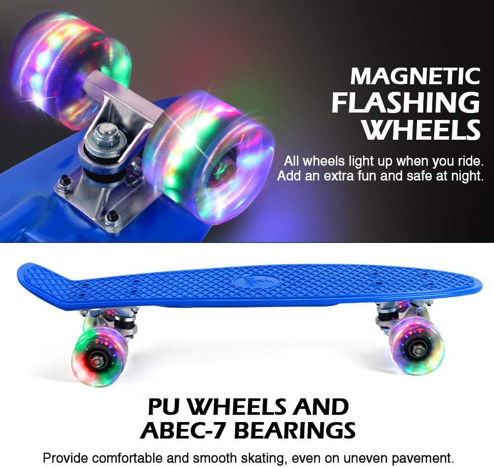 BELEEV Skateboard Complete Mini Cruiser - 1