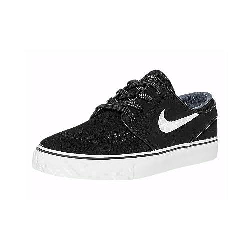 presenting genuine shoes sells Nike SB Zoom Stefan Janoski Men's Shoes - 333824 (12 D US,  Black/White-Thunder Grey)