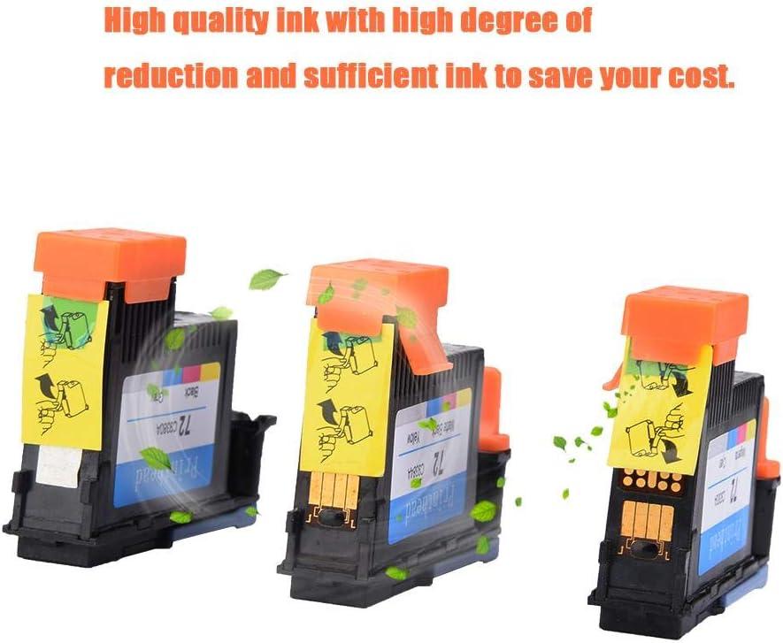 Tosuny Cabezal de impresión HP Designjet T610 T770 T795 T790 T1100PS T1120 T1200 T1300 T2300 T1100MFP/T1120PS/T1120HD/SD(Negro Mate/Amarillo+Negro/Gris+Magenta/Cian): Amazon.es: Electrónica