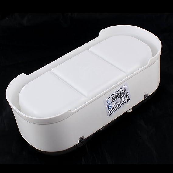 Amazon.com: DealMux Bar Kitchen 3 compartimentos condimento titular Dispenser bandeja branca: Kitchen & Dining