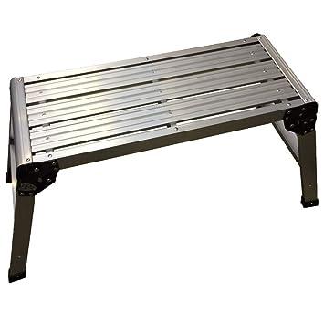 Marvelous Aluminium Heavy Duty Step Up Folding Platform Work Bench Ncnpc Chair Design For Home Ncnpcorg
