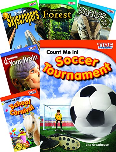 TIME FOR KIDS® Nonfiction Readers STEM Grade 2, 10-Book Set by Shell Education