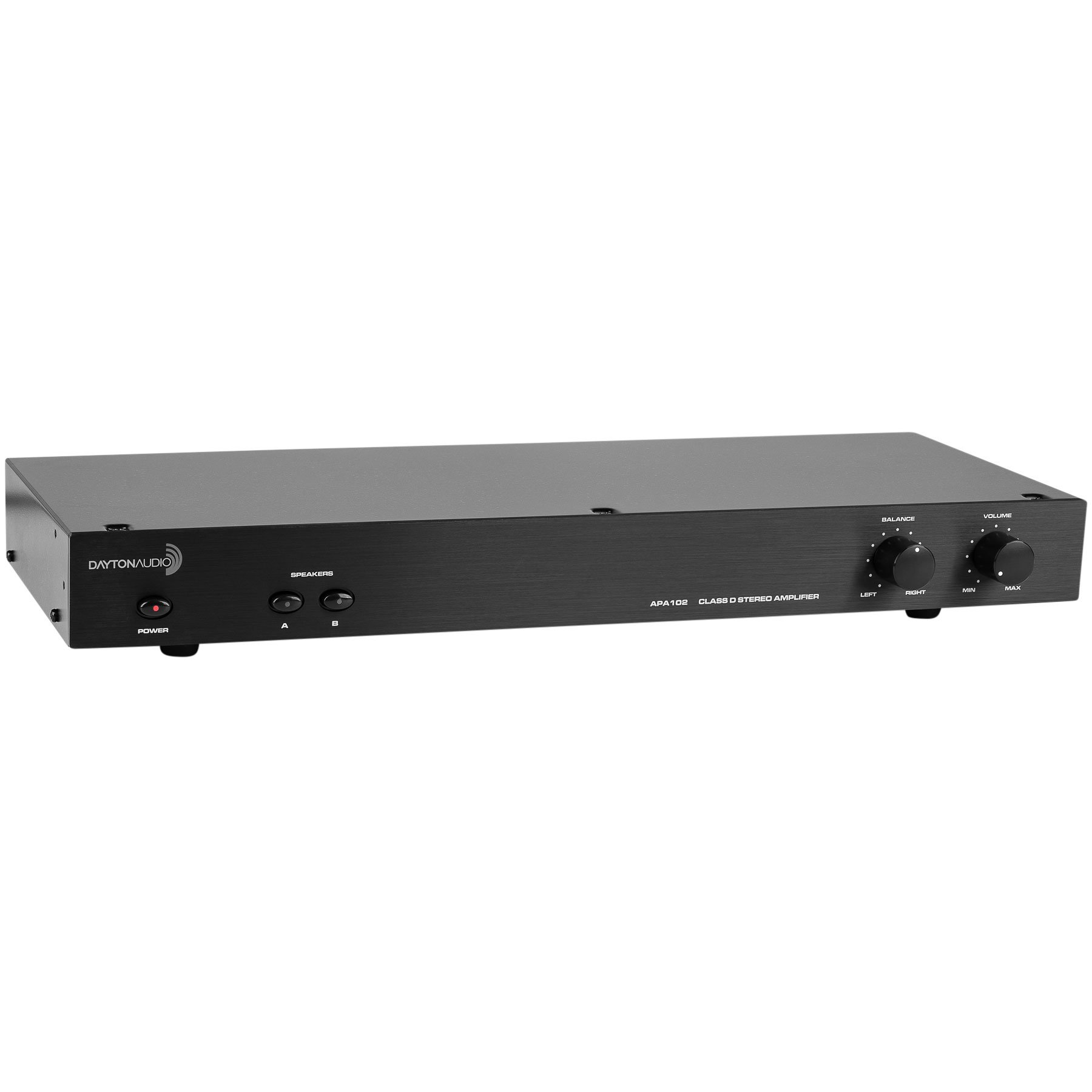 Dayton Audio APA102 Class D Stereo 60 WPC Amplifier Auto On by Dayton Audio