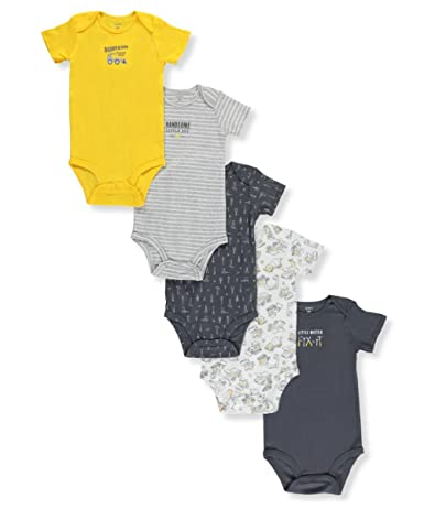 45cb9aeda Amazon.com  Carter s Baby Boys  Multi-pk Bodysuits 126g402  Clothing