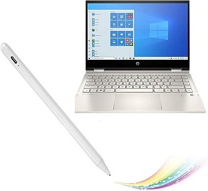 Compatible with The HP Pavilion 14-ce0010na 14 Laptop Broonel Black Fine Point Digital Active Stylus Pen
