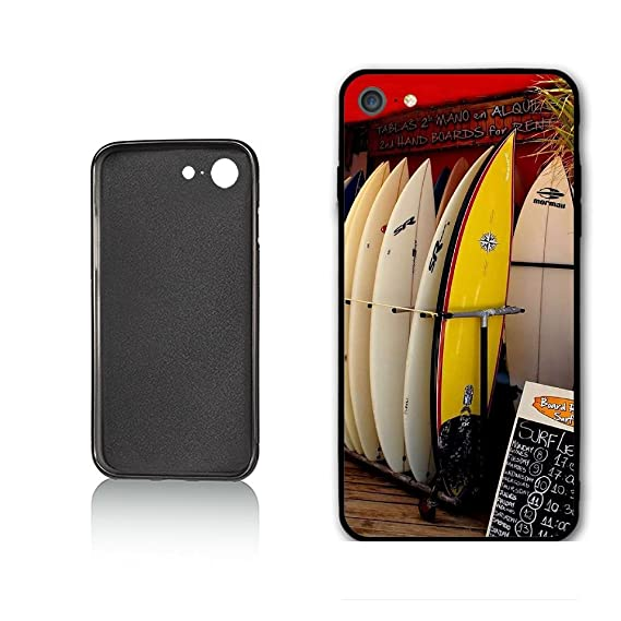 LSYSJK Surf Shop Wave Rental Board Ocean Sea Hawaii Case For iphone 7 iphone 8 Case