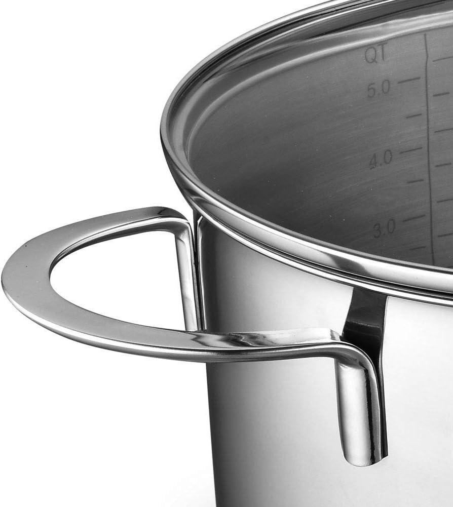 WNFDH Couvercle en Verre tremp/é en Acier Inoxydable de Vapeur//Couvercle de Wok de Wok de Wok//Couvercle r/ésistant /à la Chaleur//Accessoires de Cadre de Pot,30cm