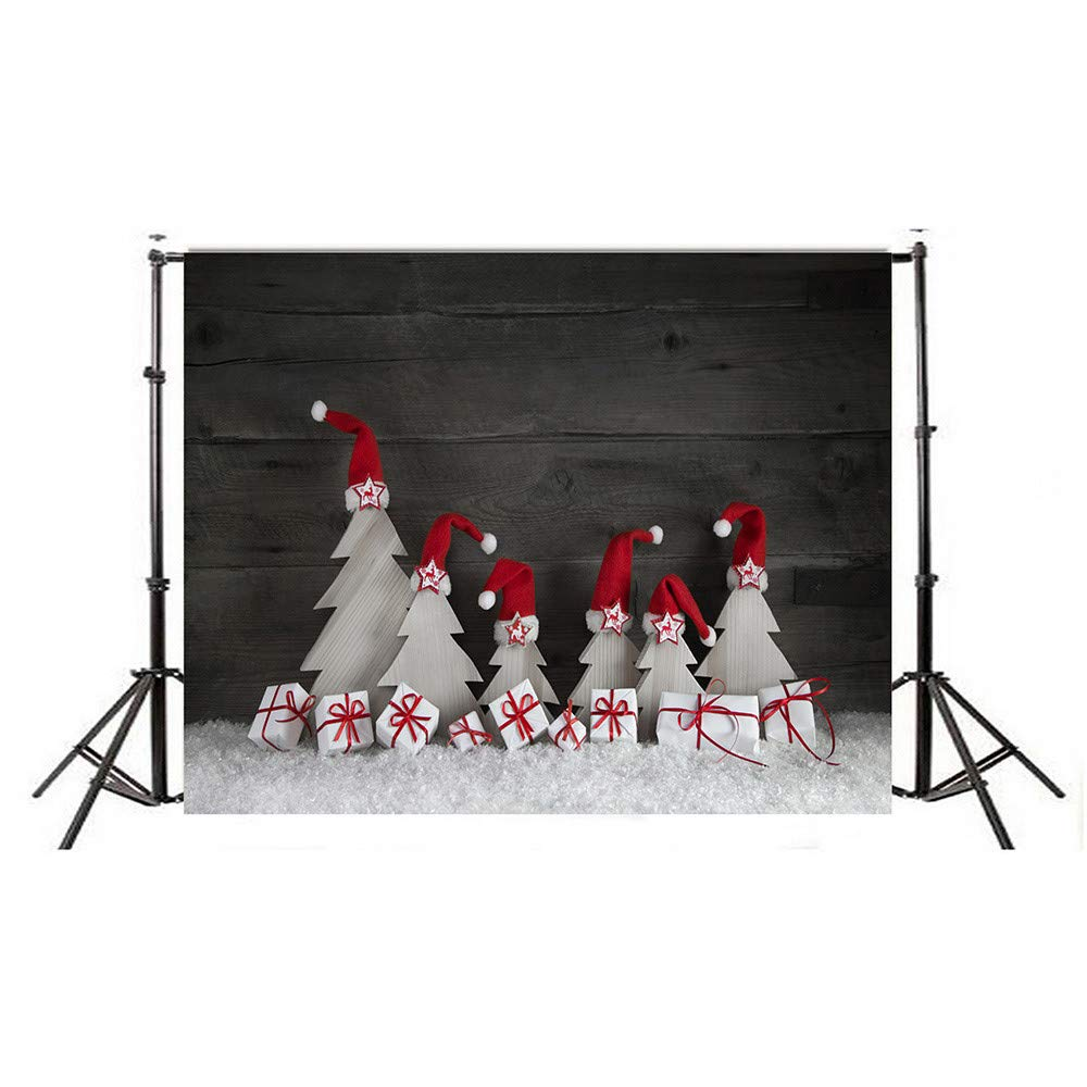 Dirance Christmas Theme Photo Backdrops 3x5ft, Photo Backgrounds for Photo Studio Weddings Party (A)