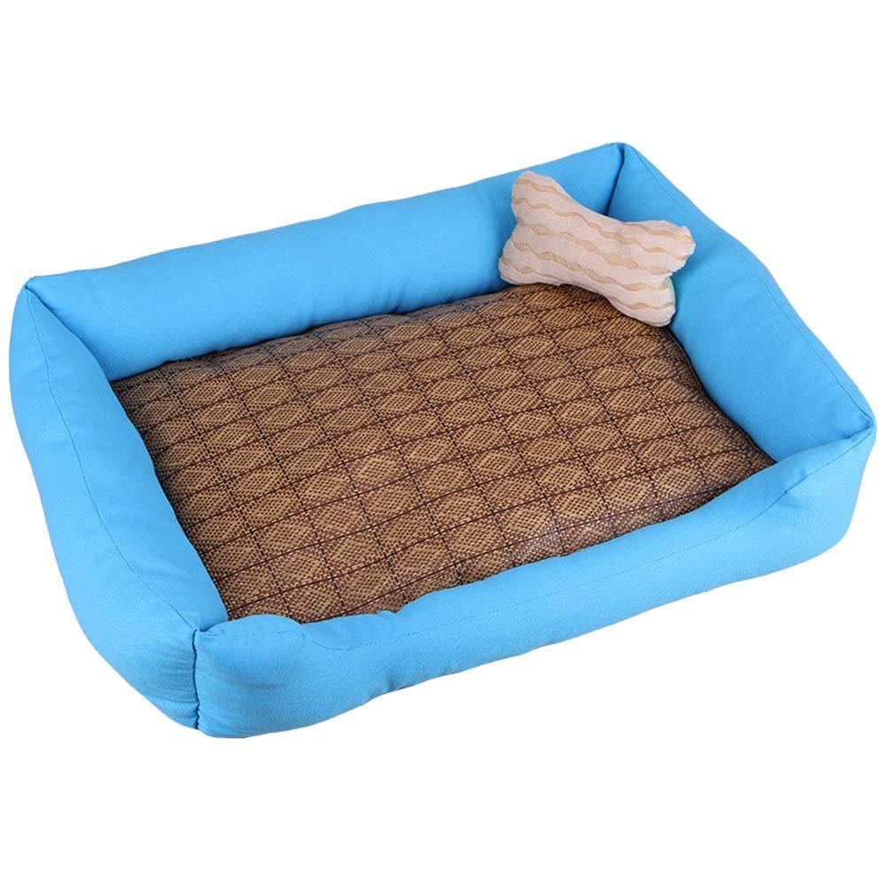 A LGperw Pet bed Kennel Washable Kennel Cat Nest For Small Dog Large Dog Pet Small Dog Winter Keep Warm (color   E, Size   XXL) Non Slip Cushion Pad (color   D, Size   M)